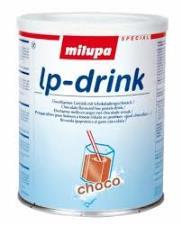 MILUPA LP DRINK CHOCO SOSTITUTO DEL LATTE AROMATIZZATO AL CIOCCOLATO A BASSO CONTENUTO PROTEICO - 375 G