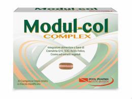 MODUL COL COMPLEX INTEGRATORE PER IL CONTROLLO DI COLESTEROLO E TRIGLICERIDI - 30 COMPRESSE