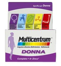 MULTICENTRUM SPECIFICO PER DONNA 30 COMPRESSE