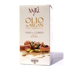 NAJTU ARGAN OLIO PURO MAROCCO VISO E CORPO - 100 ML