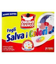 OMINO BIANCO SALVA COLORE 20 FOGLI