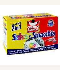 OMINO BIANCO SALVA E SMACCHIA 10 SACCHETTI
