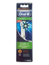 ORAL B TESTINE DI RICAMBIO CROSS ACTION 3 TESTINE