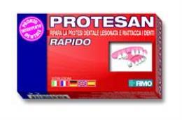 PROTESAN RAPIDO KIT PER LA RIPARAZIONE DELLA PROTESI DENTALE LESIONATA