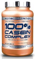 SCITEC NUTRITION 100x100 CASEIN COMPLEX - PROTEINE DA CASEINA GUSTO CIOCCOLATO BELGA - 920 G