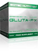 SCITEC NUTRITION GLUTA-FX - GLUTAMMINA EFFERVESCENTE GUSTO TE AL LIMONE - 20 BUSTINE DA 13 G