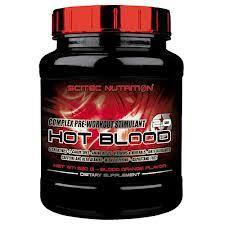 SCITEC NUTRITION HOT BLOOD 2.0 - FORMULA COMPLESSA PRE WORKOUT GUSTO ARANCIA E MARACUJA - 820 G