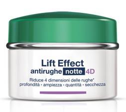 SOMATOLINE COSMETIC LIFT EFFECT ANTIRUGHE NOTTE 4D 50 ML