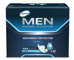 TENA MEN LEVEL 1 PROTECTION 12 PEZZI