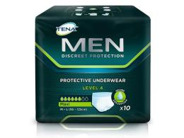 TENA MEN LEVEL 4 PROTECTION 10 PEZZI