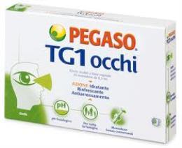 TG1 OCCHI COLLIRIO PEGASO 10 FIALE MONODOSE DA 0,5 ML