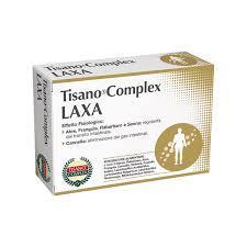 TISANO COMPLEX LAXA - INTEGRATORE ALIMENTARE - 30 CAPSULE DA 820 MG