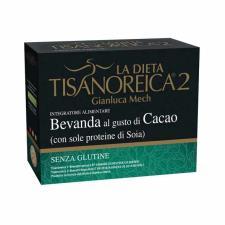 TISANOREICA 2 - BEVANDA AL GUSTO DI CACAO CON SOLE PROTEINE DI SOIA - 4 BUSTE DA 30 G