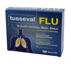 TUSSEVAL FLU 12 BUSTINE DA 5 G