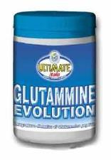 ULTIMATE ITALIA GLUTAMMINE EVOLUTION - INTEGRATORE ALIMENTARE DI GLUTAMMINA PEPTIDE IN POLVERE - 200 G