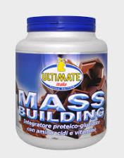 ULTIMATE ITALIA MASS BUILDING GUSTO VANIGLIA - 1,8 KG