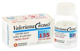 VALERIANA CRONO 135 FAST ACTION - INTEGRATORE ALIMENTARE - 30 COMPRESSE DA 365 MG