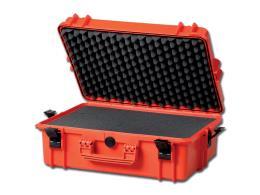 VALIGIA GIMA CASE 430 - con inserti in spugna - arancione