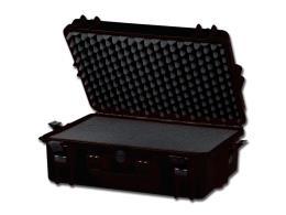 VALIGIA GIMA CASE 430 - con inserti in spugna - nero