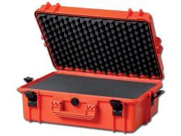 VALIGIA GIMA CASE 500 - con inserti in spugna - arancione