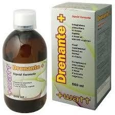 WATT DRENANTE+ - DRENANTE DEPURATIVO E ANTIOSSIDANTE - 500 ML