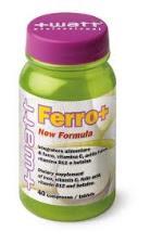 WATT FERRO + NEW FORMULA INTEGRATORE ALIMENTARE DI FERRO - 40 COMPRESSE