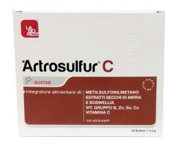 ARTROSULFUR C 28 BUSTINE DA 5,2 G