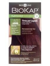 BIOKAP NUTRICOLOR DELICATO RAPID TINTA 5.0 CASTANO CHIARO NATURALE 135 ML