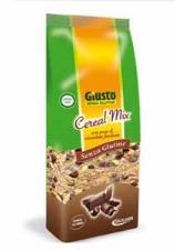 GIUSTO SENZA GLUTINE - CEREAL MIX CON PEZZI DI CIOCCOLATO - 300 G