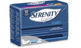 SERENITY MAN LIGHT ASSORBENZA EXTRA CONFORT - 15 PEZZI